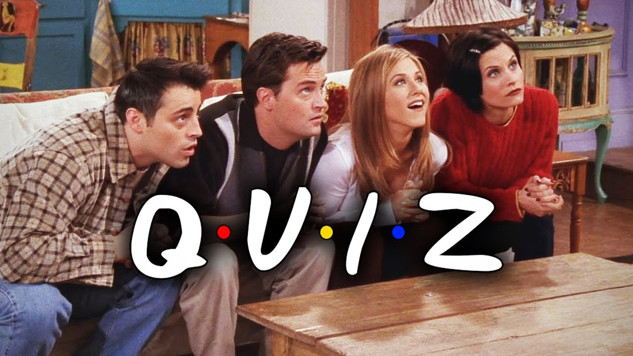 FRIENDS Quiz : Reunion Special